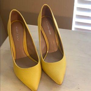 Gianni bini yellow heels